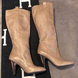 Genuine Leather Jessica Simpson-knee high boots